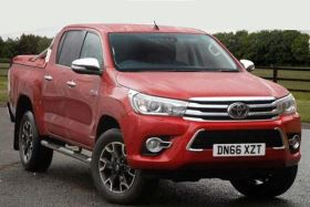 Image of TOYOTA HILUX DIESEL Invincible X D/Cab Pick Up 2.4 D-4D