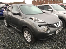 Image of NISSAN JUKE 1.5 dCi N-Connecta 5dr Hatchback