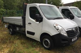 Image of VAUXHALL MOVANO 35 L2 DIESEL FWD 2.3 CDTI H1 Tipper 125ps