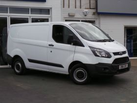 Image of FORD TRANSIT CUSTOM 290 L1 DIESEL FWD 2.2 TDCi 100ps Low Roof Van